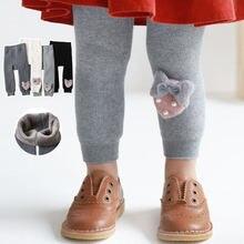 Зимние штаны для девочек Теплые детские на вельветовой подкладке;
