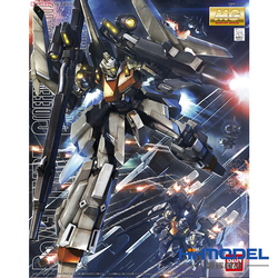 Original Gundam MG 1/100 Model RGZ-95C ReZEL TYPE-C DEFENSER b-UNIT General Revil Model Mobile Suit Kids Toys
