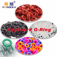 110Pcs Keyboard o-ring Keycaps Silicone rubber ORing Switch Sound Dampeners Cherry MX Dampers Key cap Silicone Seal Ring Replace