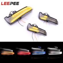 คู่รถกระจกมองหลังเลี้ยวสัญญาณไฟสำหรับMercedes Benz W221 W212 W204 W176 W246 X156 C204 c117 X117 LEDไฟกระพริบ