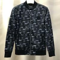PLEIN SKULL Men Jacket Casual Outwear Baseball Coat Spring Autumn Mens Bomber Jackets 2019 Skull Rock Heavy metal Coats