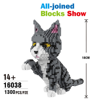 Mini Building Blocks Balody 16045 16013 Animal Dog 16038 cat Educational DIY Model Bricks Toys Kids dropship birthday Gifts Toy balody mini blocks big size mario diy building toys large one piece bricks cute auction juguetes for kids toys 16001 16009