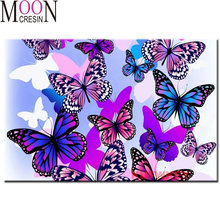 Алмазная живопись «сделай сам» цветная вышивка стразами крестиком