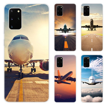 Hot Airplane Departure Phone Case For Samsung Galaxy S20 Plus Ultra A01 A11 A21 A31 A41 A51 A71 A81 A91 A10S A20S A70S A70E A90 image