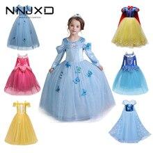 Princess Costume Dress-Up Christmas-Dress Cosplay Girls Party Baby-Girl Kids Halloween