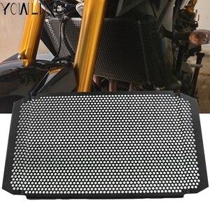 Image 1 - Motosiklet aksesuarları radyatör Guard koruyucu ızgara ızgara kapağı YAMAHA XSR900 XSR 900 MT 09 tracer900 2016 2017 2018 2019