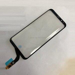 Image 2 - OEM Mới Bộ Số Hóa Màn Hình Cảm Ứng Kính Cường Lực Công Việc Dành Cho Samsung Galaxy Samsung Galaxy S8 Plus LCD Màn Hình Chức Năng Cảm Ứng Vấn Đề Thay Thế