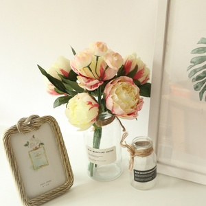 Wedding FlowersFake Flowers Home Decorations 1 Bunch Of Peony Bouquets Simulation Flower Style Home Decorations