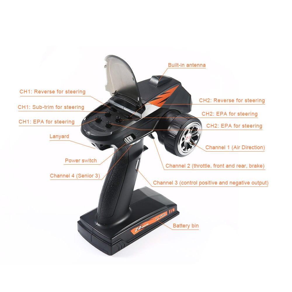 RC Auto Hohe Geschwindigkeit 60 KM/H 1:16 Racing Klettern Auto 2,4G Fernbedienung Spielzeug Autos Auf Die Radio Gesteuert 4x4 Drive Off Road Spielzeug - 5