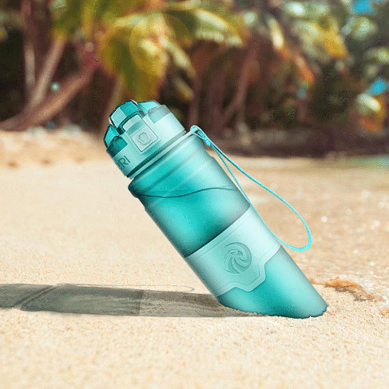 Beste Sport Wasser Flasche TRITAN Copolyester Kunststoff Material Flasche Fitness Gym Yoga Für Kinder/Erwachsene Wasser Flaschen-in Water Bottles from Home & Garden on AliExpress