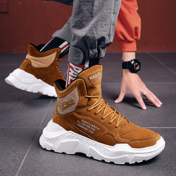 2019 Mens Shoes Casual Slip On Breathable Hot Sale Air Cushion Keep warm Sneakers Men Shoes Spring Shoes Outdoor Flats Shoes 1