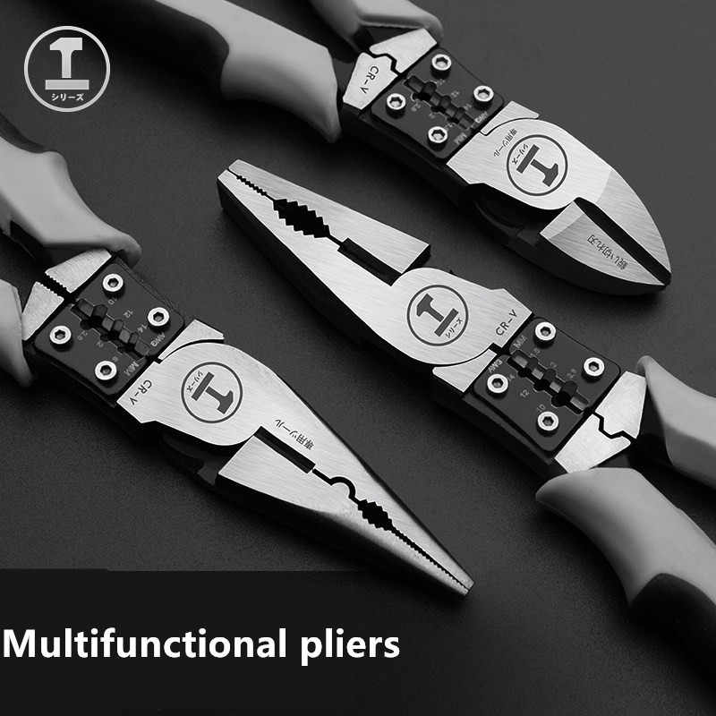 Multifungsi Wire Pliers Abor Hemat Vise 7.5/8 Inch Kelas Industri Wire Pliers Manual Tang Chrome Molybdenum Steel