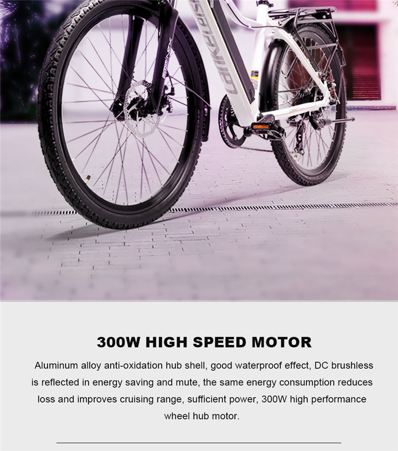 Clearance 26inch Electric mountain bike 36V lithium battery travel electric bicycle lighweight Ebike 2