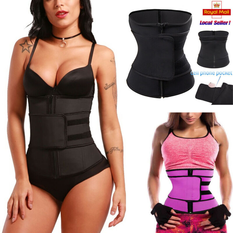 Men Women Slimming Belts Waist Trainer Cincher Trimmer Sweat Belt Gym Burn Fat Slim Body Shaper Unisex Slimming Belt S-3XL