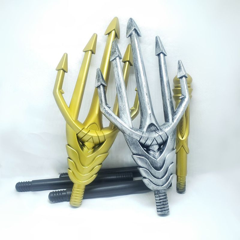 Image 4 - Western movie Aquaman Anime props Arthur Curry Orin Heroes Trident Gift Cosplay Action Figure Collectible Model Toy Halloween-in Action & Toy Figures from Toys & Hobbies