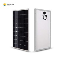 Solar Panel 12v monocrystalline 100 watt solar panel efficiency 36 cells mono solar power panels cheap price