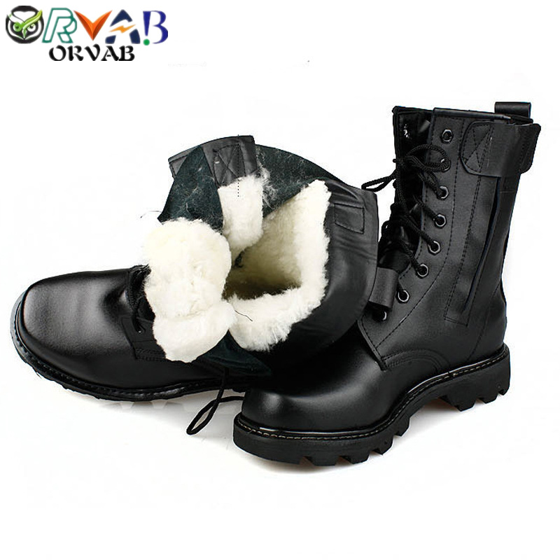 Steel Toe Boots Winter Men Military Leather Boots Combat Bot Infantry Tactical Boots Askeri Bot Army Bots Work Men Safety Shoes