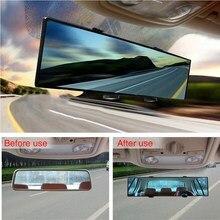 300 мм широкий выпуклый автомобиль Интерьер клип на Панорамный зеркало заднего вида