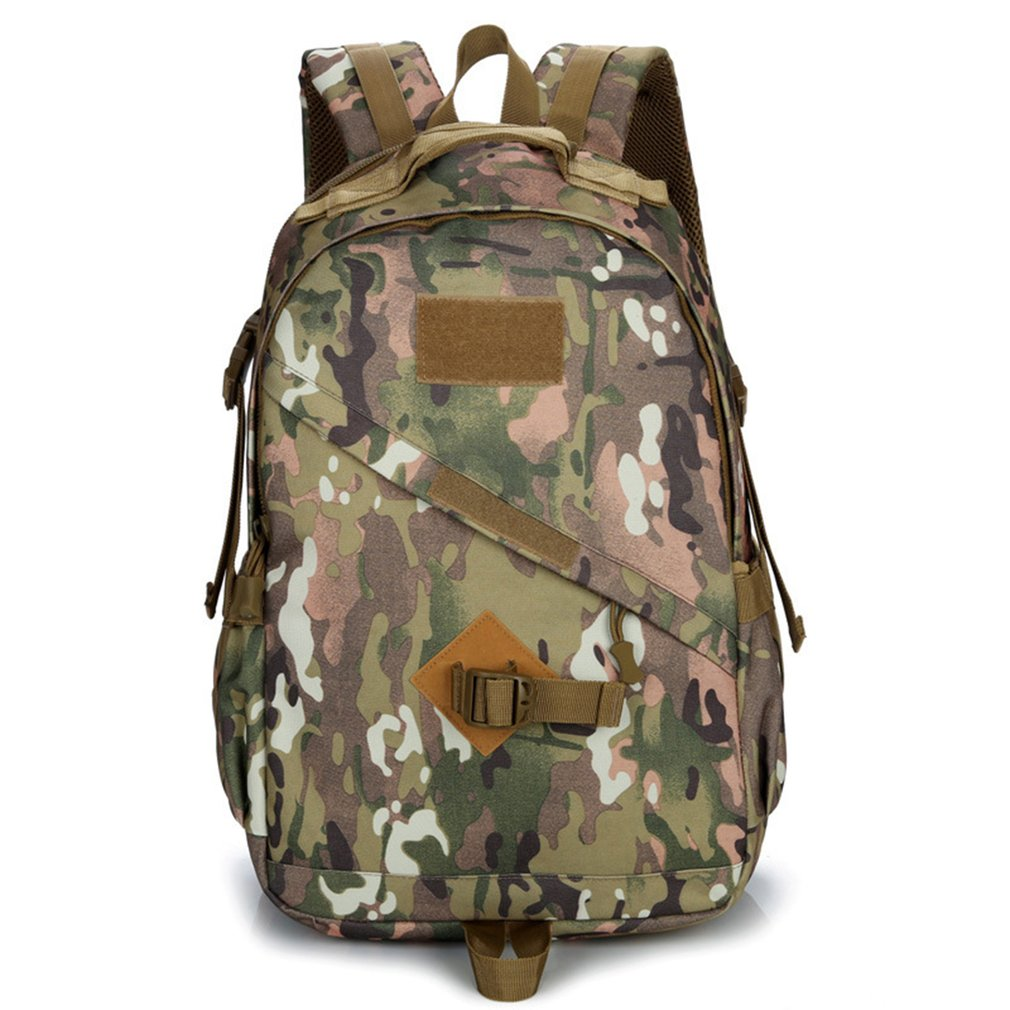 55L Military Molle Bag Camping Tactical Backpack Men Waterproof Travel Outdoor Sports Bags Shoulder Rucksack Hiking Pack