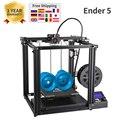 3D принтер  Ender-5  большой размер печати  Cmagnetic  сборка пластины  выключение питания  простое построение Core-XY Creality 3D ender 5