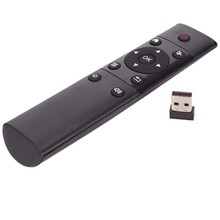 цена на 2.4G Wireless Remote Control Universal USB Plug-and-play Controller For Android TV Box Smart Television HTPC PCTV