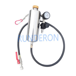 Image 2 - GX100 Injector Cleaner Tool Non Dismantle Bottle Repair Tool With Pressure Gauge Universal Auto Car Gasoline Fuel System