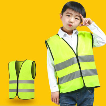 Kids Safety Vest Reflective Clothing Children Protective Vest High Visibility Yellow Fluorescent Safety Vest for School Outdoor susan kesselring school safety