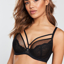 Sexy lace Super book underwear foreign trade large cup bra 32G 85G
