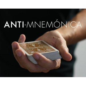 2019  Anti Mnemonica By Miquel Roman 1-3 Magic Instructions  Magic Trick