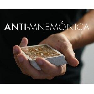 2019  Anti Mnemonica By Miquel Roman 1-3 Magic Instructions  Magic Trick
