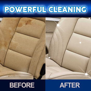 Automotive Interior Dry-Cleaning Seat Foam Dry Cleaning Agent furadeira Car Wash Upholstery Cleaner Car 2