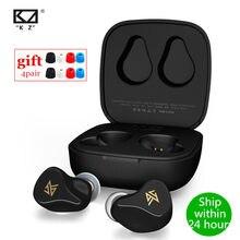 Kz Z1 Pro \ Z1 Tws Bluetooth 5.2 \ Bt 5.0 Koptelefoon Draadloze Koptelefoon Dynamische Oordopjes Touch Control Noise Cancelling sport Headset