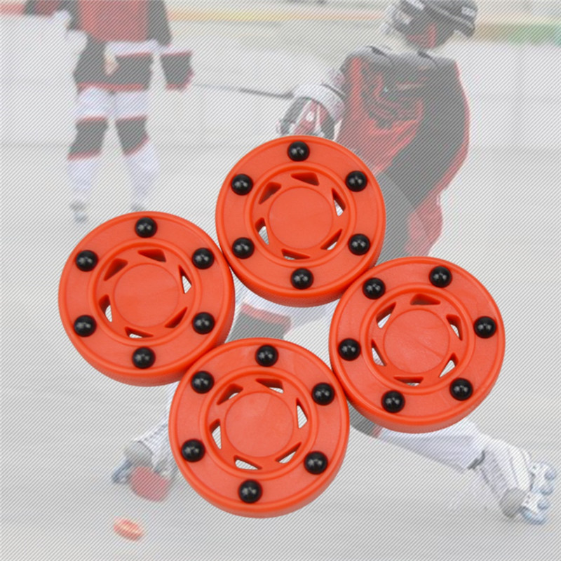 Roller Hockey Durable  High-density Good Quality ABS Practice Puck  For Ice Inline Street Roller Hockey Training