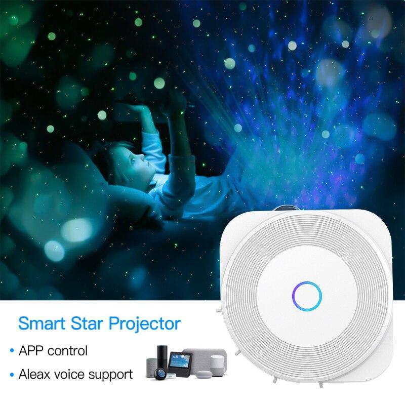 Inteligente galaxy projetor controle de voz ajuste