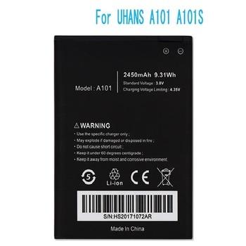 Battery For UHANS A101 A101S Bateria Batterij Accumulator 2450mAh