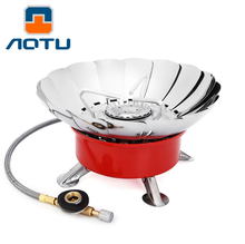 Windproof Stove Cooker Cookware Gas Burners for Camping Picnic Cookout BBQ With Extended Pipe 4 type Gas Stove Outdoor K203 falcon 535130132 gas thermostat copreci type gt 354 gas inlet pipe flange 21mm bypass nozzle 0 95mm