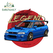 EARLFAMILY 13cm x 11.3cm Impreza 2.5 RS Funny Vinyl Sticker Car Bumper Decal Waterproof Car Styling Car Accessories for Subaru