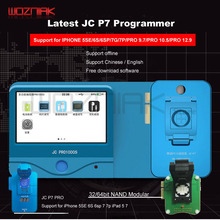 جهاز برمجة Wozniak JC Pro1000S JC P7 PCIE NAND وحدة قراءة HDD 32/64 بت لهاتف iPhone 7 7 P 6 6S 6P 6SP 5 4 8 8p x xr xs max