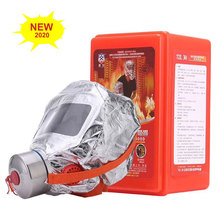 Safety-Mask-Upgrade Fire More-Safe Emergency Respirator Dust-Carbon 30-Minutes Escape