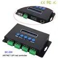 Bincolor BC 204 Artnet zu SPI/DMX led pixel licht controller eingang 680pixel * 4CH + Ein port (1X512 Kanäle) ausgang DC5V 24V