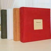 Фланелевый 6-дюймовый фотоальбом, вставка, бумага для записей, свадьба, дети, хранение фотографий, креативный подарок, ретро альбом