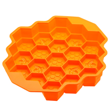 19 Cell Honey Comb Bees SOAP Mould Beeswax Ice Jelly Chocolate Silicone Cake Pan DIY Decoration