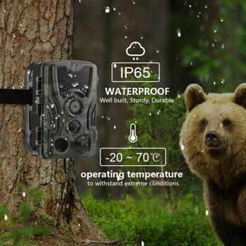 16MP 32GB/64GB Trail Camera IP65 Photo Traps 0.3s Trigger Time 940nm Wild Camera 1080P Waterproof  Hunting Camera 4