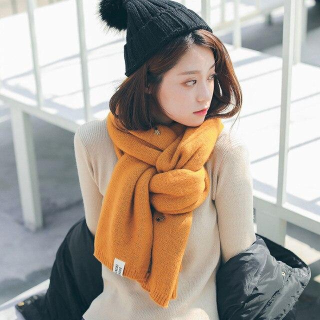 осень зима 2020 новый двухсторонний шарф из искусственного кашемира фотография