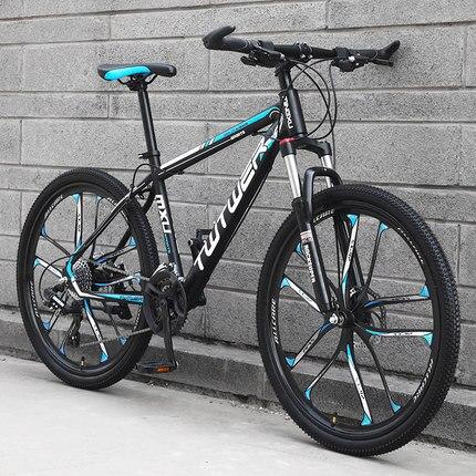 Mountain bike dez faca roda de equitação