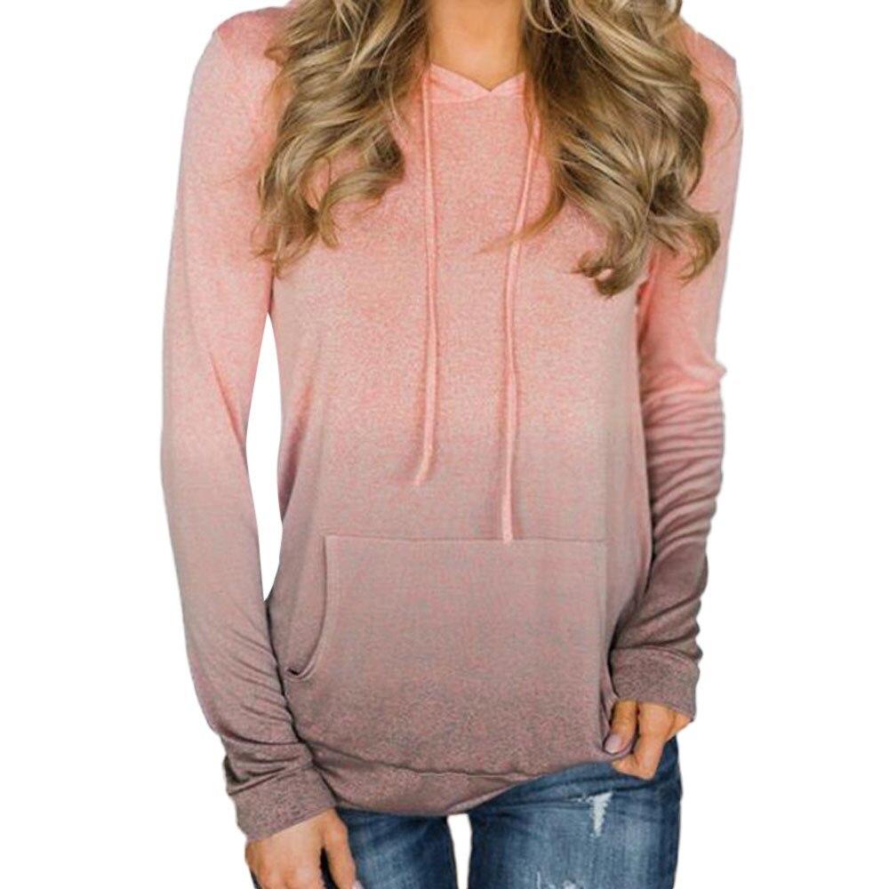 Nice Women Tie Dye Print Hoodies Sweatshirt Streetwear Autumn Women Fashion Clothes Clothing