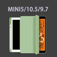 Чехол для Ipad чехол для Ipad Air 10,5 дюймов / Новинка с держателем для карандашей кожаный чехол для IPad MINI 5 Чехол Pro 11