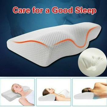 Contour z pianki Memory poduszka ortopedyczna ortopedyczna poduszka na ból szyi na boczny tył poduszka na brzuch biała obudowa poduszki tanie i dobre opinie BODY Pościel Pamięci NECK VYY2432 Wklęsła