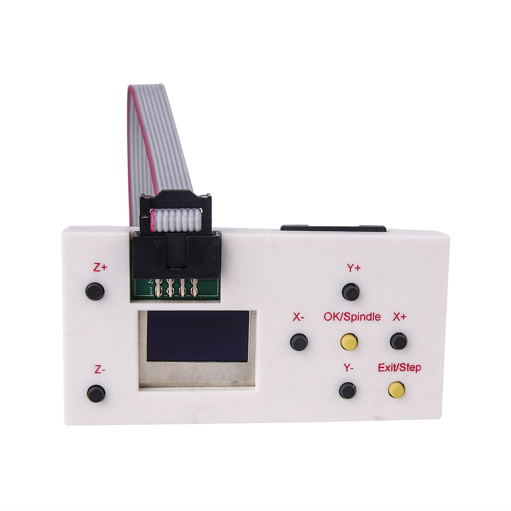 CNC Machine With Offline Controller And 3 Pin Laser For Wood PCB PVC