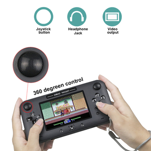 Image 2 - Retro Draagbare Mini Handheld Game Console 8 Bit 4.0 Inch Video Game Ingebouwde 208 Games Voor Video uitgang Game Console